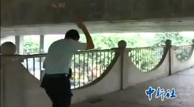 Çinde ilginç köprü