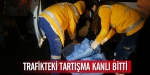 Beşiktaşta trafikteki tartışma kanlı bitti