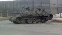Tanklar Humus'a Girdi