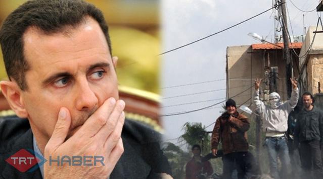 """Suriyede """"Esed oyunları"""""""