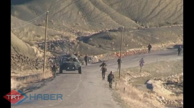 Diyarbakırda askeri konvoya mayınlı tuzak