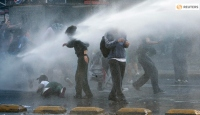 Şili'deki Depremzedelerden Protesto