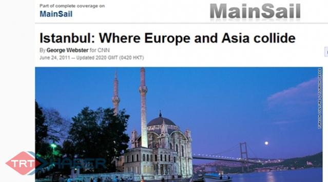 İstanbul CNNin İnternet Sitesinde