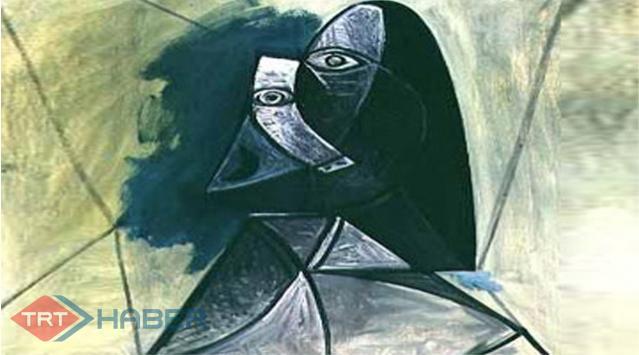 Picassonun Tablosuna Filistinde Yakın Koruma