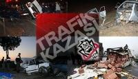 Eskişehirde trafik kazası: 1 ölü, 2 yaralı