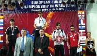 Genç Grekoromende Avrupa Şampiyonu Olduk