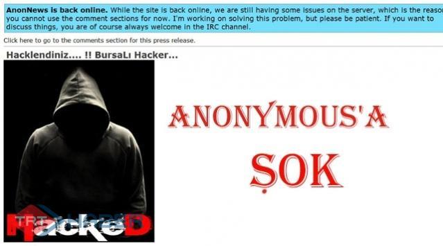 """Anonymousa """"Bursalı"""" Darbesi"""