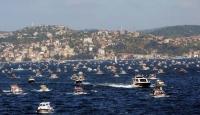 2 Bin Tekne İstanbul Boğazı İçin Buluştu