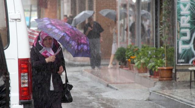 Çok kuvvetli yağış uyarısı