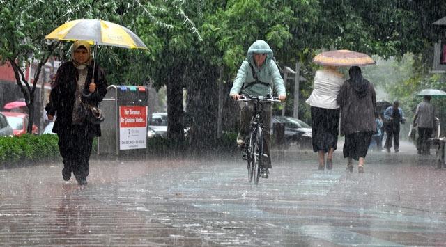 Meteorojiden Kuvvetli Yağış Uyarısı