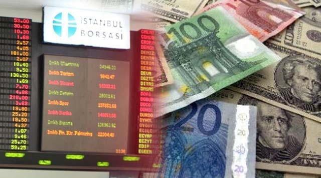 Borsa Düştü Dolar Yükseldi