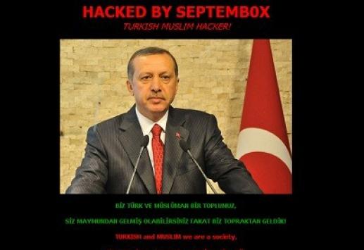 Erdoğanın Fotoğrafı İslam Karşıtının Sitesinde