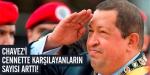Chavezi cennette karşıladılar