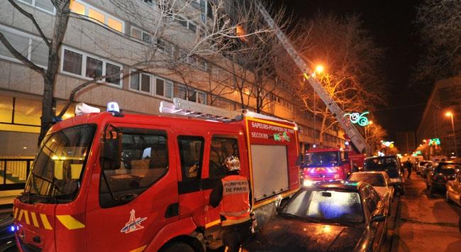 Fransada yangın şoku