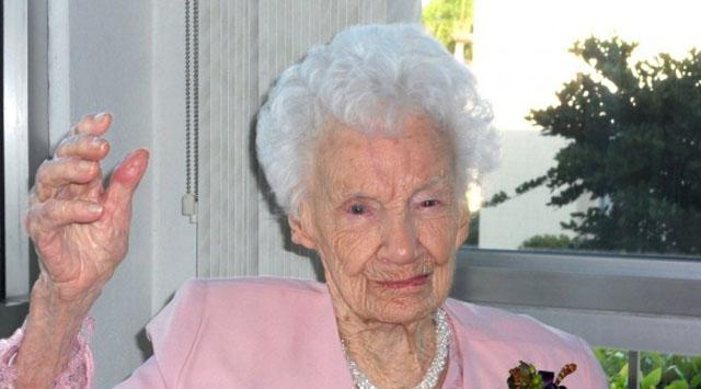 ABDnin en yaşlısı öldü