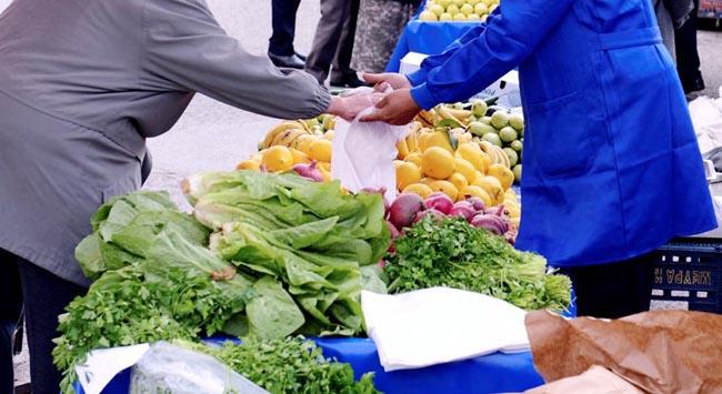Pazarda sebze-meyve fiyatları