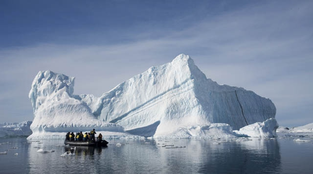 Antartikada eriyen buzullar küresel su seviyesini artırıyor
