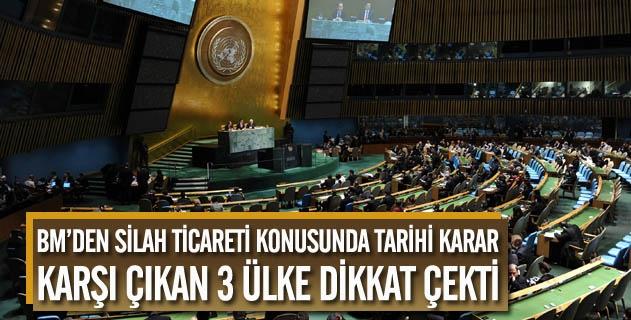 Birleşmiş Milletlerden tarihi karar