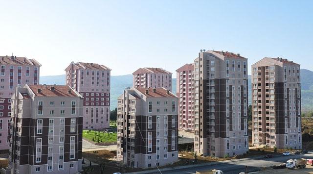 Ruhsat verilen bina sayısında artış
