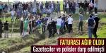 Sakaryada gazetecilere yapılan saldırı