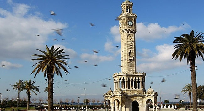 İzmire 7 ayda 744 bin turist geldi