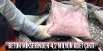 Beton mikserinden 4,2 milyon adet çıktı!