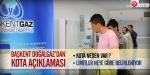"""Başkent Doğalgazdan """"kota"""" açıklaması"""