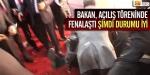 Bakan Eroğlu fenalaştı