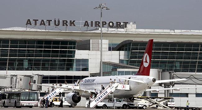 Atatürk Havalimanında büyük artış