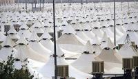 Arafata dev yanmaz çadırkent