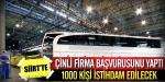 Çinliler Siirte otobüs fabrikası kuruyor