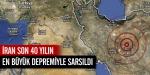 İranda 7,8 büyüklüğünde deprem