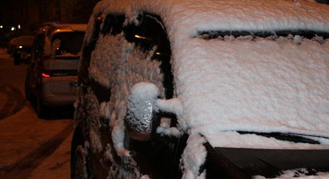 Nisanda kar sürprizi