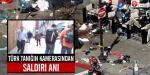 Türk tanığın kamerasından saldırı anı