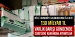 Milli ekonomiye kazandırılmak istenen 130 milyar