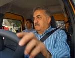 Bakan Hayati Yazıcı taksi direksiyonuna geçti