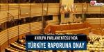 APde Türkiye raporuna onay