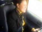 Dilek Yüksel taksi direksiyonuna geçti