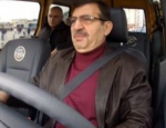 İdris Güllüce taksi direksiyonuna geçti