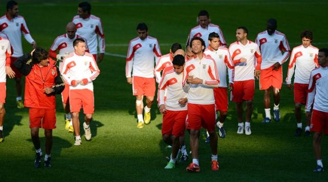 Benficanın muhtemel 11i