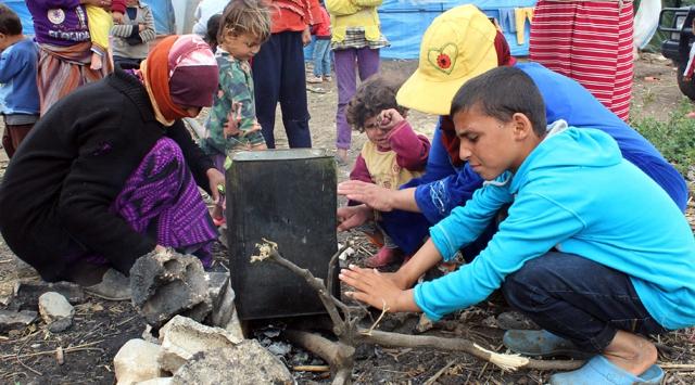 Suriyenin yüzde 40ı yardıma muhtaç