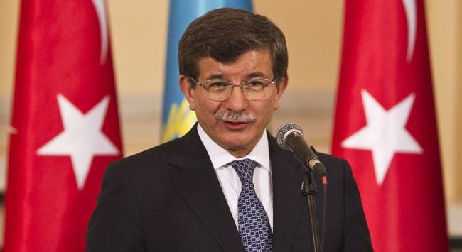 Bakan Davutoğlu Moskovada