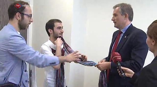 Trabzonsporlu Fransız büyükelçi