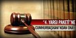 4. Yargı Paketi Onaylandı
