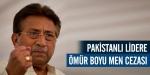 Pakistanda Müşerrefe siyaset yasağı geldi