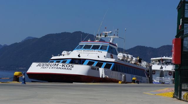 Türk feribota el konuldu