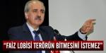 Faiz lobisi Türkiyede terörün bitmesini  istemez