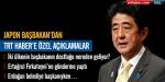 Japon başbakan Türkiyeye geliyor