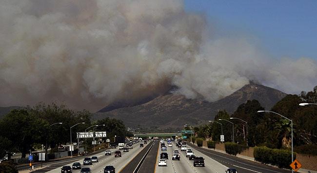 California yanıyor