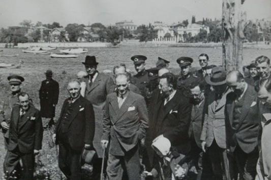 Atatürkün Fenerbahçe ziyareti